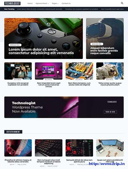Technologist-wordpress-theme