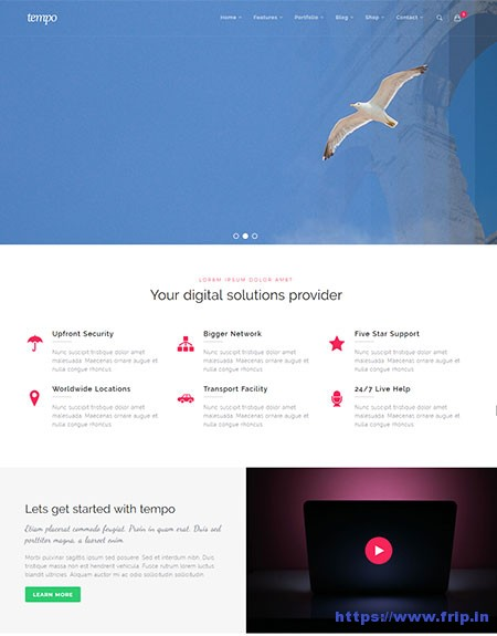 Tempo-Multipurpose-Website-Template