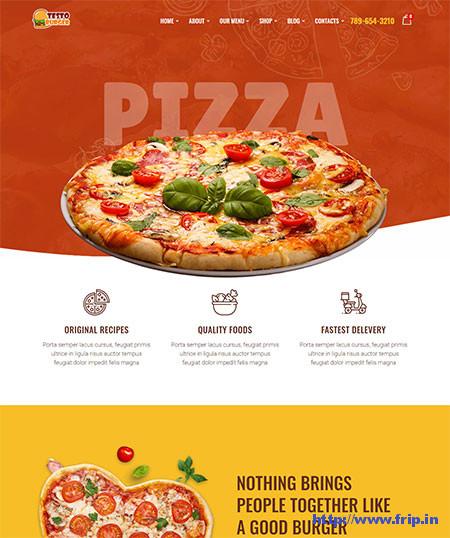 Testo-Restaurant-WordPress-Theme