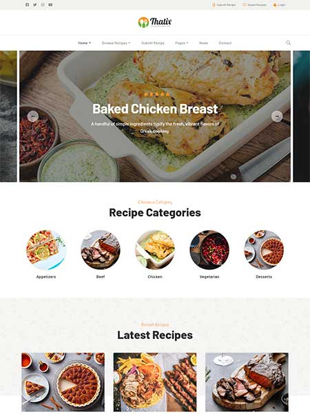 Thatix-Food-Recipes-WordPress-Theme