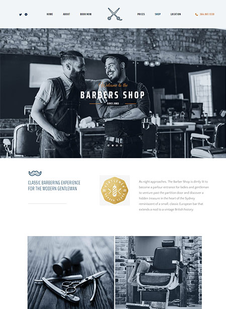 The-Parlour-Hair-Salon-WordPress-Theme