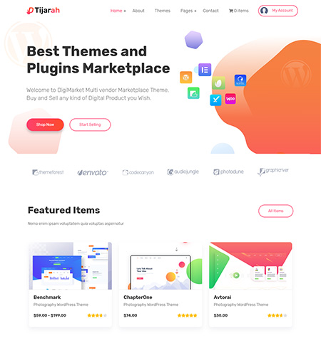 Tijarah-Digital-Marketplace-WordPress-Theme