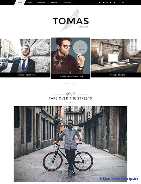 Tomas-&-Daisy-WordPress-Theme