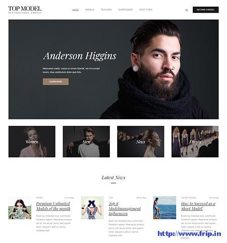 Top-Model-Agency-WordPress-Theme