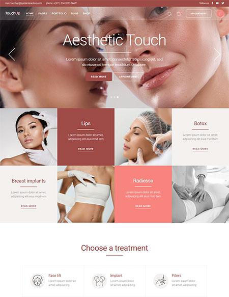TouchUp-Plastic-Surgery-Theme