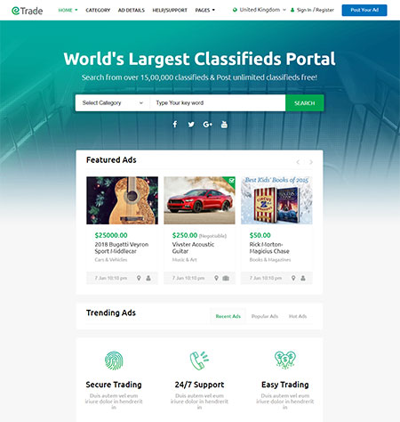 Trade-Classifieds-Ad-HTML-Template