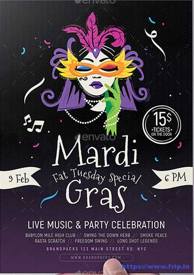 Traditional-Mardi-Gras-Flyers