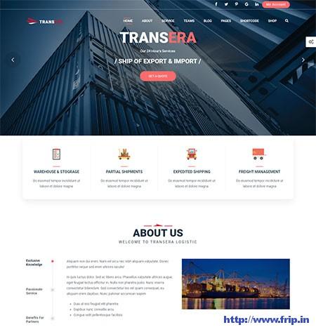 Transera-Transportation-&-Logistics-WordPress-Theme