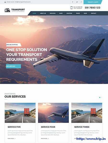 Transport-Logistic-WordPress-Theme