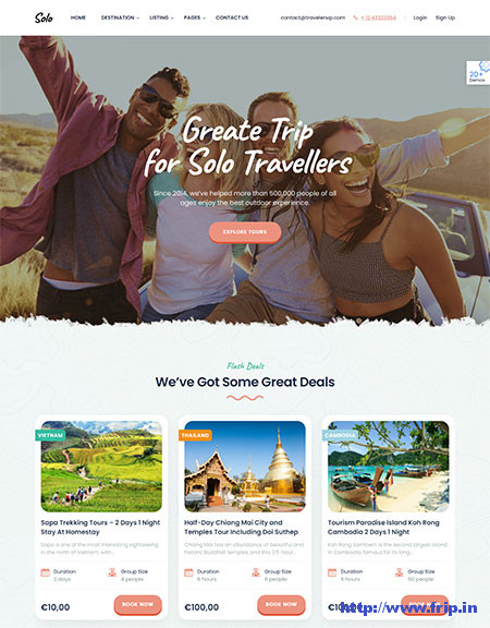 Traveler-Travel-Booking-WordPress-Theme