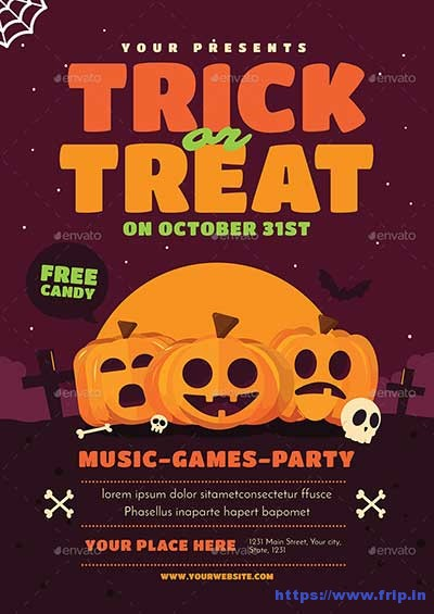 Trick-or-Treat-Halloween-Event-Flyer