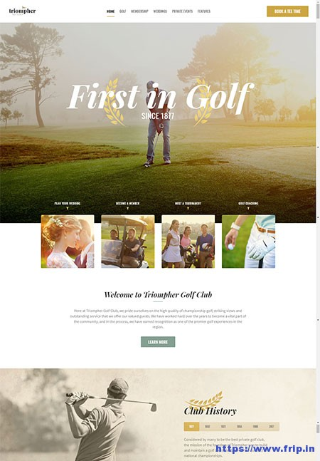 Triompher-Golf-Club-WordPress-Theme