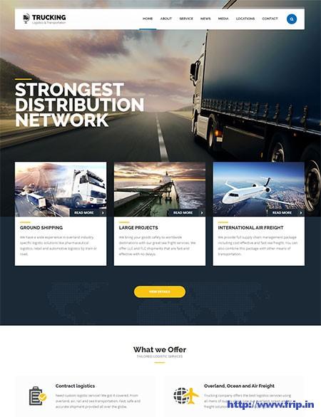 Trucking-Transportation-&-Logistics-WordPress-Theme