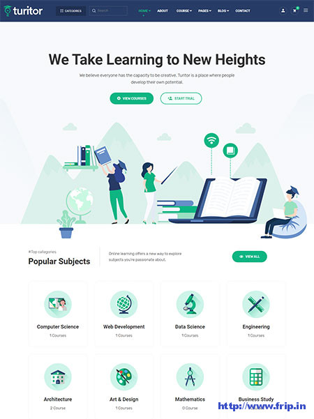 Turitor-Education-WordPress-Theme