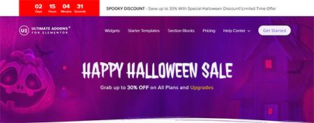Ultimate-Addons-for-Elementor-halloween-deal