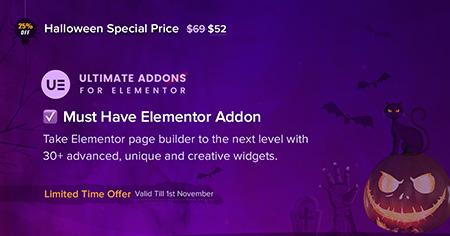 Ultimate-Addons-for-Elementor-halloween-sale