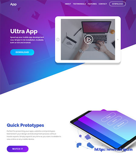 Ultra-App-WordPress-Theme
