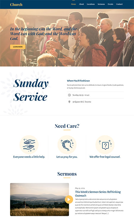Ultra-Church-Skin-For-Ultra-WordPress-Theme