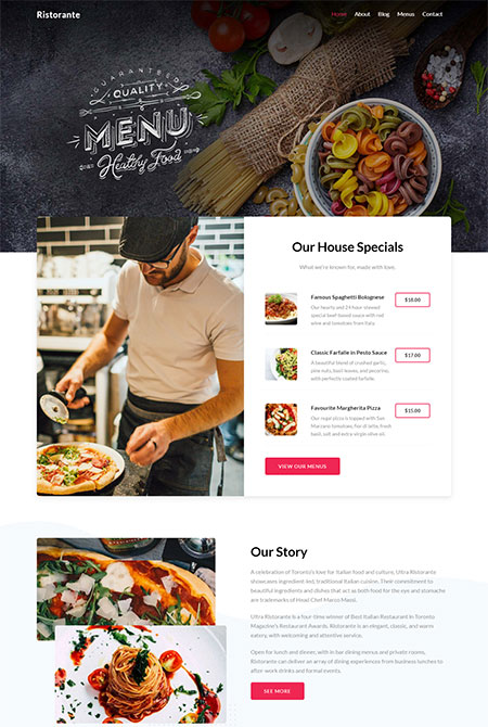 Ultra-Ristorante-Skin-For-Ultra-WordPress-Theme