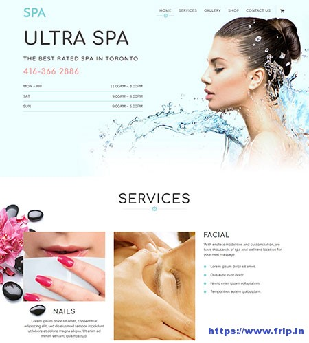 Ultra-Spa-WordPress-Theme