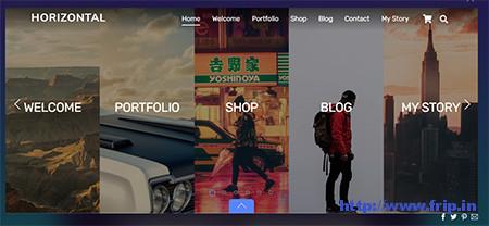 Ultra-horizontal-WordPress-Theme