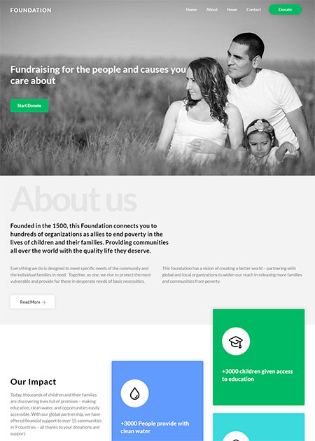 Ultra-non-profit-wordpress-theme