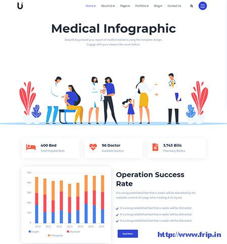 Umetric-Infographic-Theme-For-WordPress