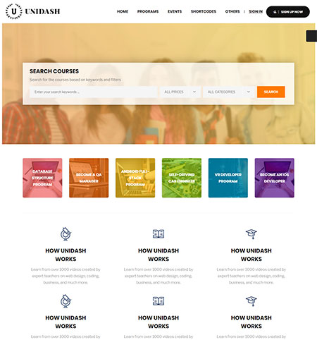 Unidash-WordPress-Theme