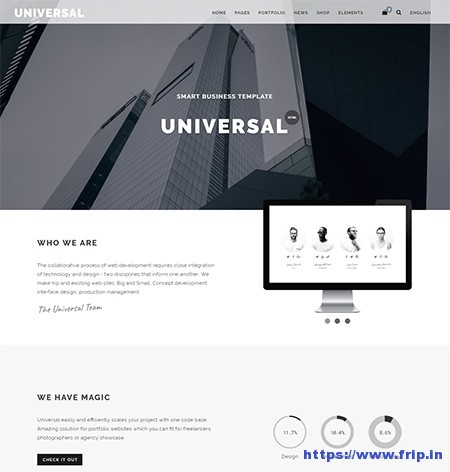 Universal-Multi-Purpose-HTML5-Template