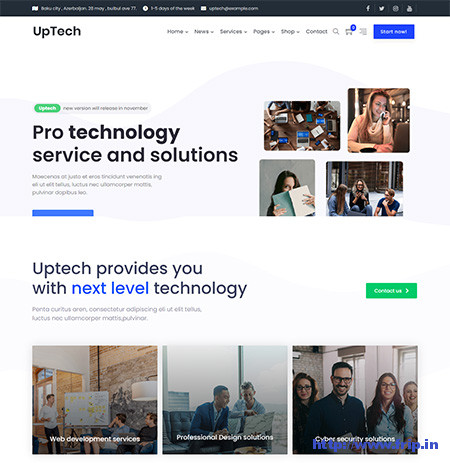 Uptech-IT-Solutions-&-Services-Theme