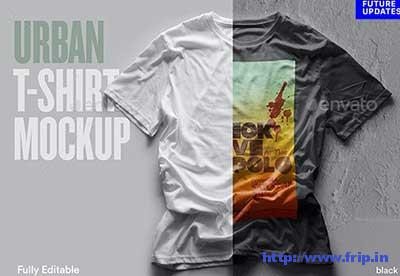 Urban-T-Shirt-Mockups