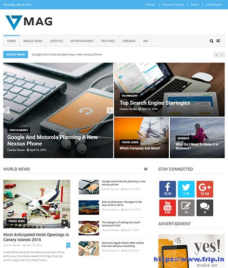 VMag-Lite-WordPress-Theme