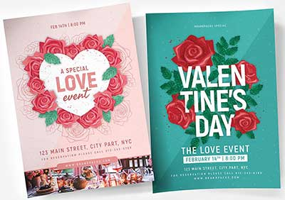 Valentine-Day-Flyer-&-Poster-Templates