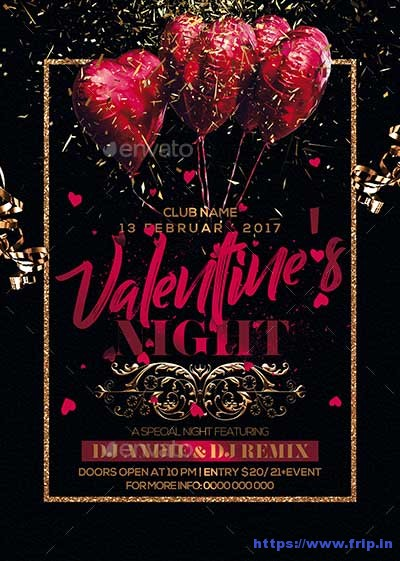 Valentine-Night-Party-Flyer