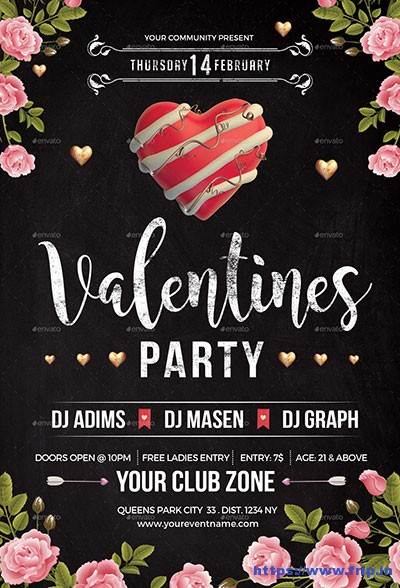 Valentine-Party-Flyer