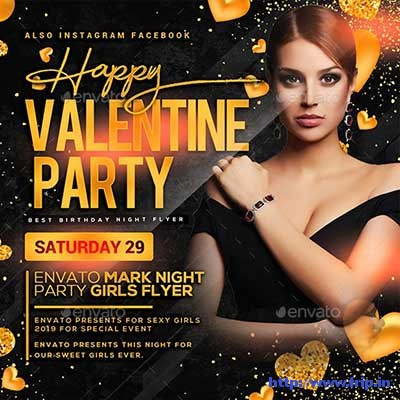 Valentines-Day-Flyer-Template