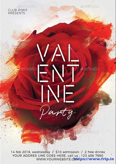 Valentine's-Day-Party-Flyer