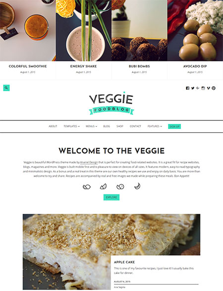 Veggie-Blogging-WordPress-Themes