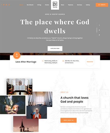 Vestry-Church-WordPress-Theme