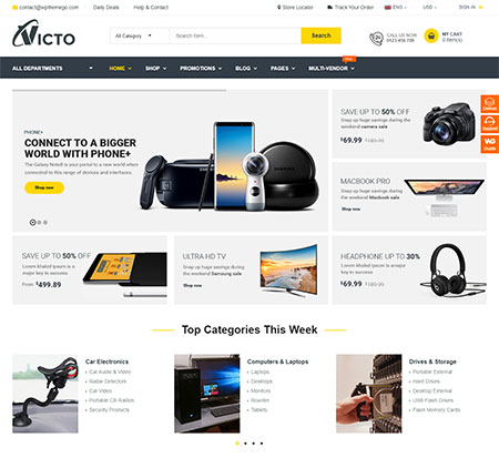 Digital Marketplace WordPress Themes