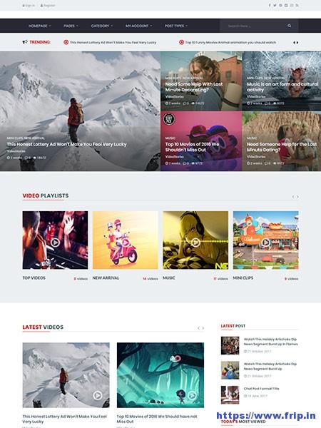 VideoStories-WordPress-Video-Theme
