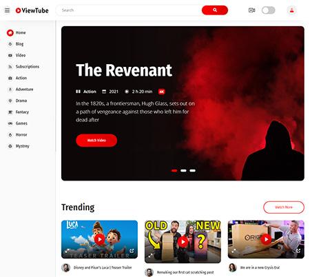 ViewTube-Video-Streaming-WordPress-Theme