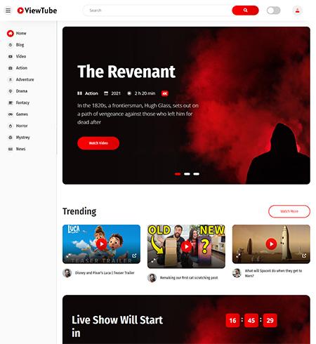 ViewTube-View-Streaming-WordPress-Theme