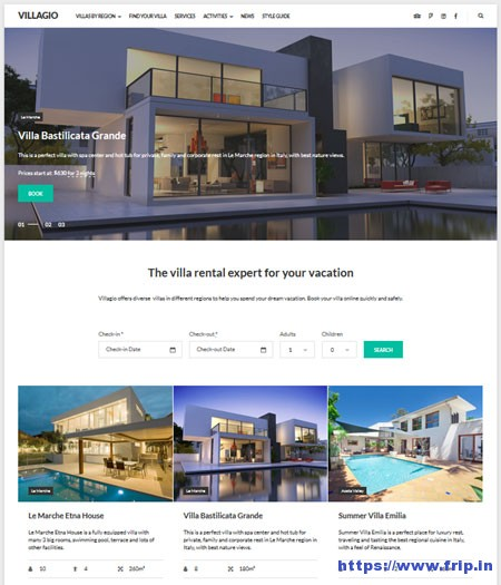 Villagio-Property-Rental-WordPress-Theme