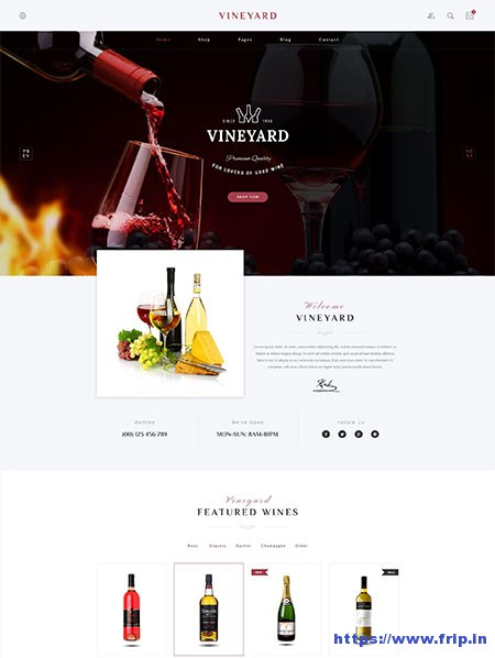 Vineyard-Wine-Store-WordPress-Theme
