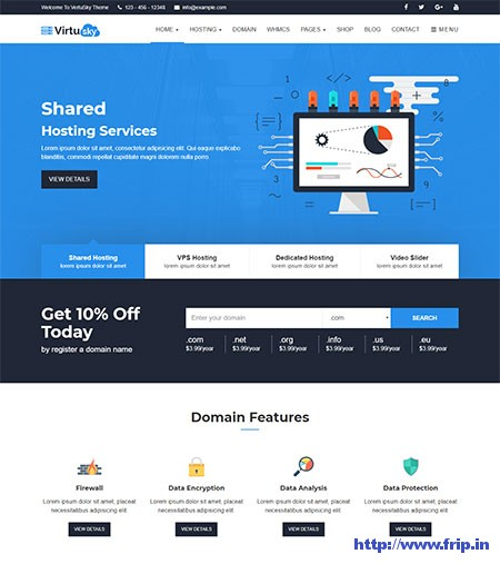 VirtuSky-Hosting-&-WHMCS-WordPress-Theme