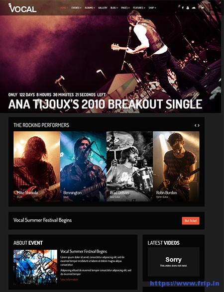 Vocal-Music-Event-WordPress-Theme