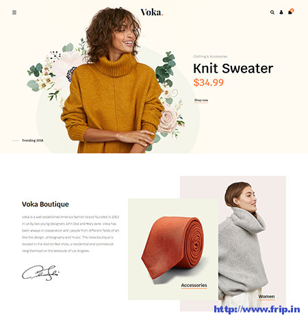 Cosmetic Store WooCommerce Themes
