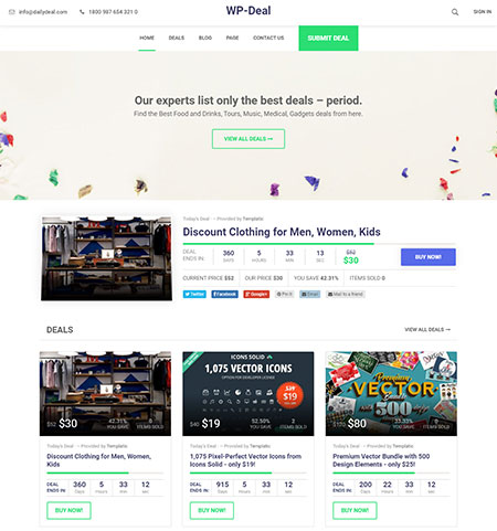 wp-deal-daily-deal-wordpress-theme
