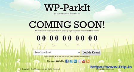 WP-ParkIt-Coming-Soon-Theme
